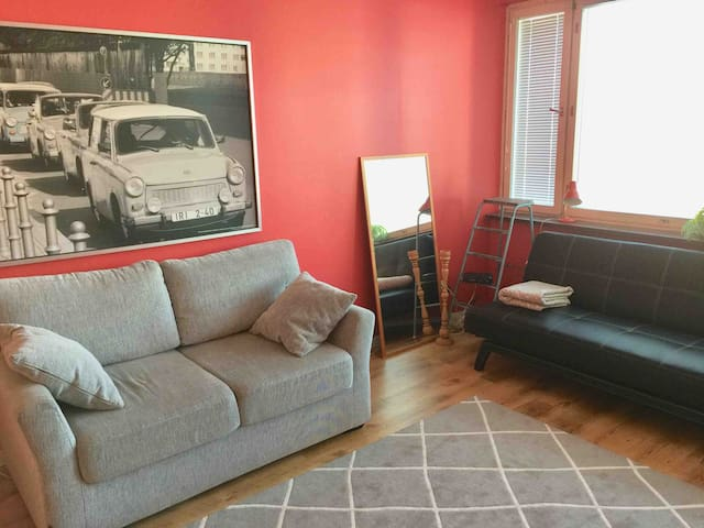 Back in time with a comfy stay - 2-room-apt