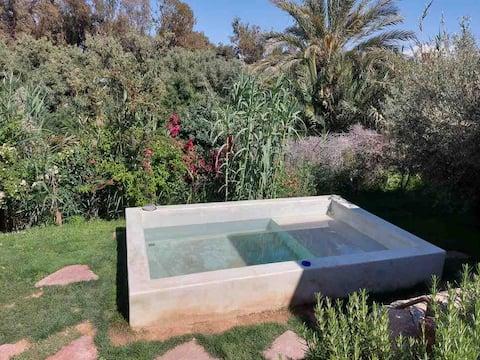 Ecolodge unique aux portes d'Agafay - La Canisse