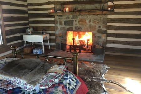 Back in Time!    River, Log Cabin - paradise!