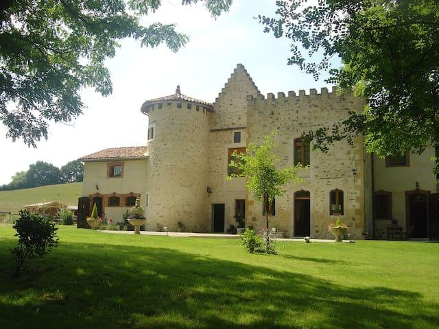 Chambres d'hôtes dans une demeure historique - Montgaillard-de-Salies - Castell