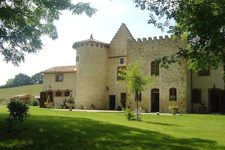 Chambres d'hôtes dans une demeure historique - Montgaillard-de-Salies - Schloss