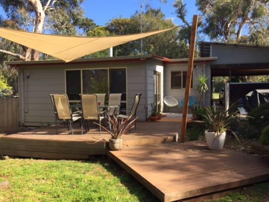 Mac 39 s beach house at ventnor on phillip island houses for Beach house designs phillip island