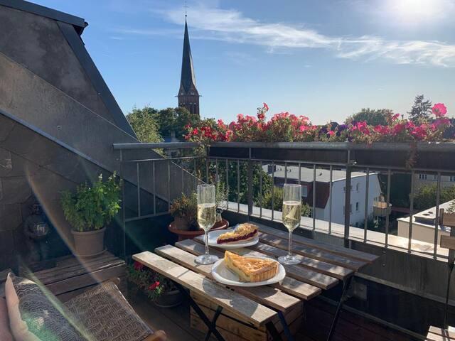 Ruhige Wohnung mit Balkon/Park Sanssouci (57qm)