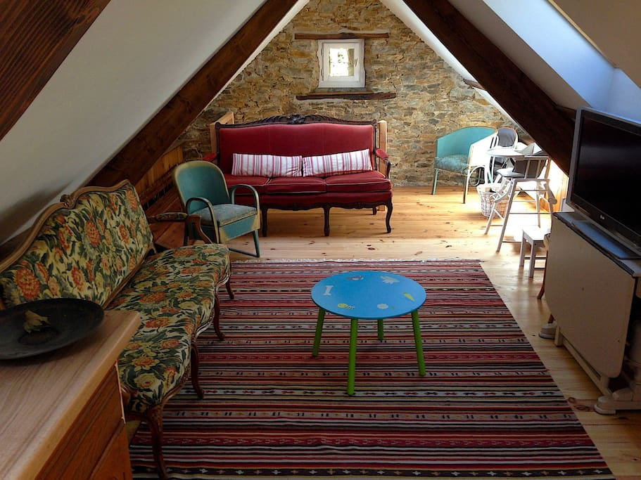 Salon à l'étage