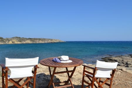 Nerida BeachFront Villa 3 Thalassa  Rodos Greece - Plimmiri - Casa de camp