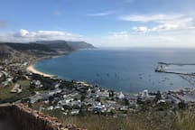 Simons Town Harbour, if you like hiking these immaculate views await you in Simons Town!