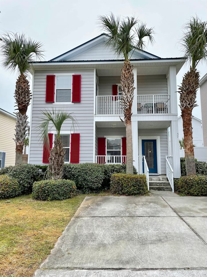 NEW Blue Gulf Paradise on 30A! 0.6 miles to beach!