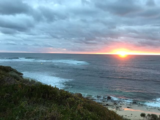 """""""End of the day"""" Surfers Point , Prevelly  Margaret River"""