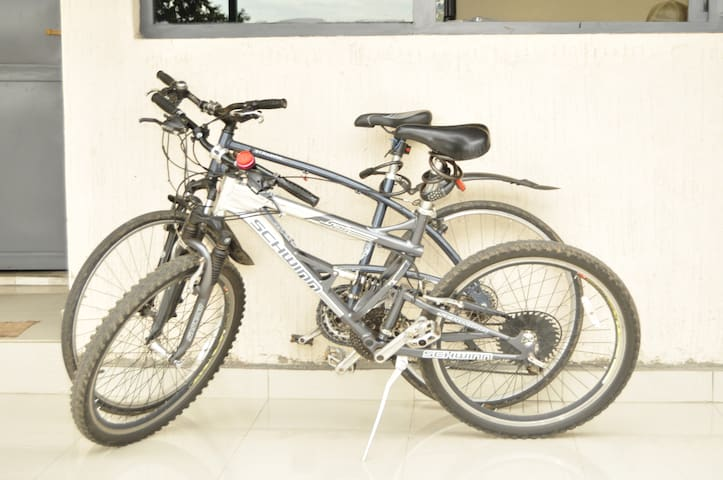 We offer free tours to our guests with mountain bikes  It is enjoyable to visit lake Burera and Ruhondo from Fido's Guest House. More activities are available and you are welcome to organize in advance with us or with Fido's guide at the arrival