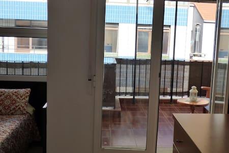 Ático con terraza en centro Bilbao - 畢爾巴鄂 - 公寓