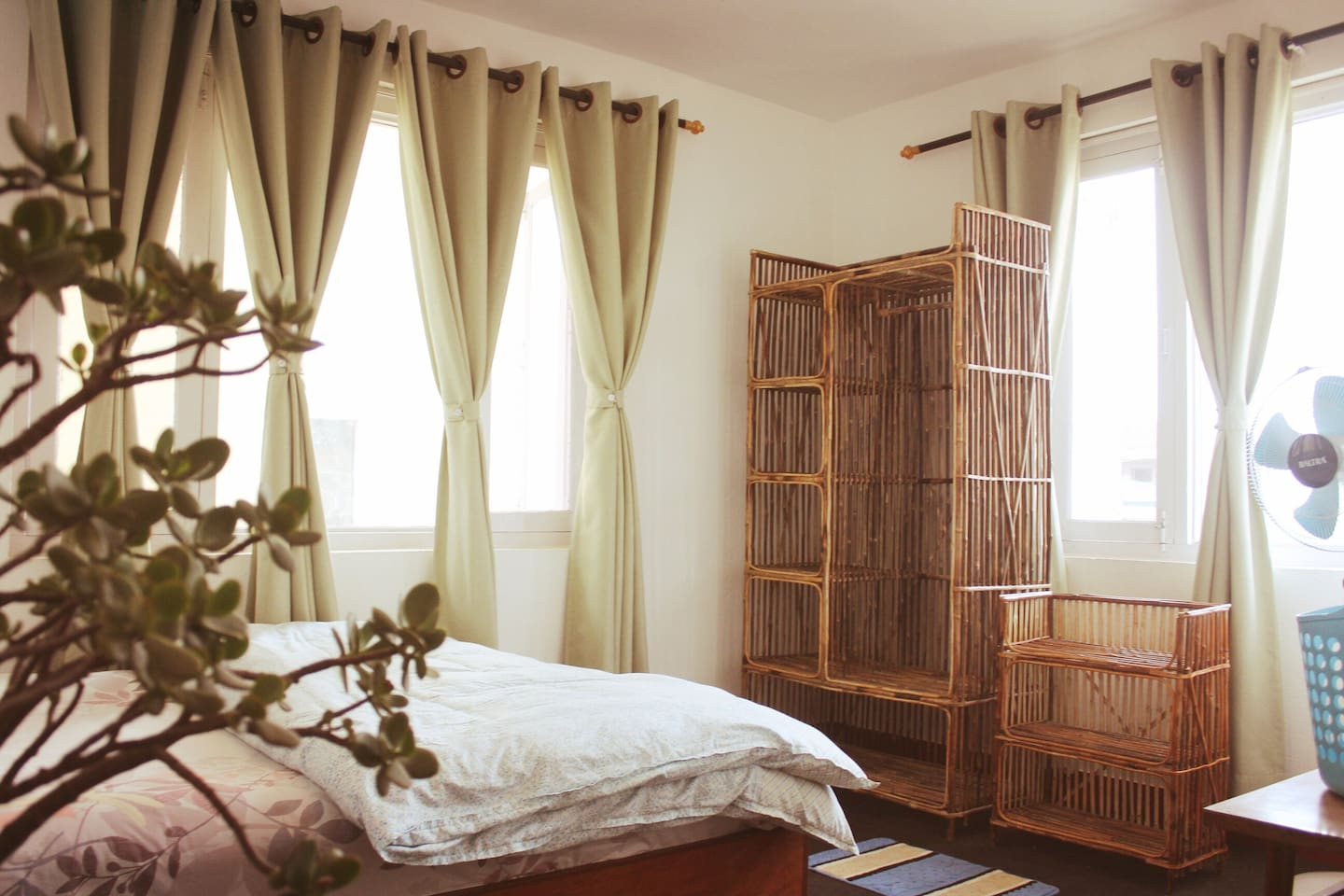 The room is very much homely environment. We provide very clean and healthy environment for a good sleep.
