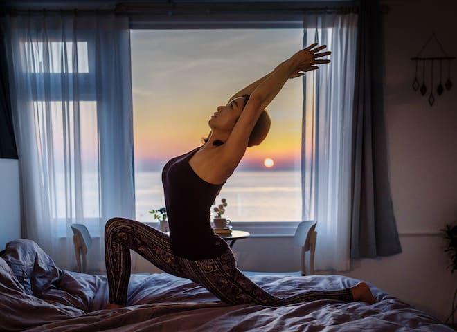 [라톡하우스] 속초 오션뷰! 집전체 리모델링♡침대에서 일출보기 ★ 속초 해수욕장