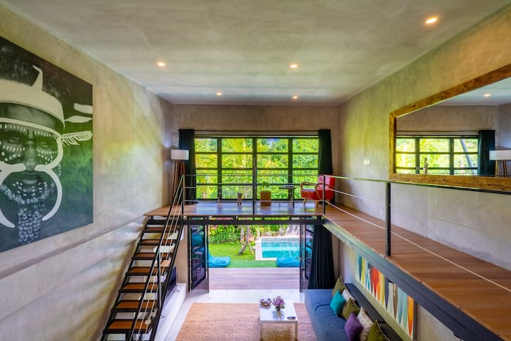 #1 Modern Boutique Loft walking to Canggu Beach