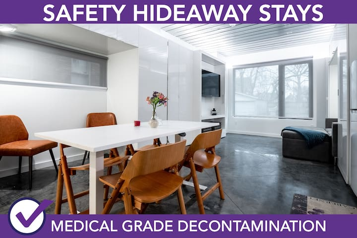 Safety Hideaway - Medical Grade Clean Home 122