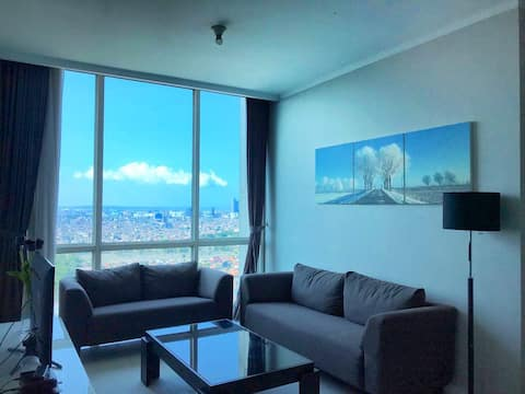 PROMO! 1 BR APT ON 36TH FLOOR @ Ciputra World Mall