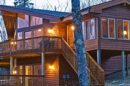 SUMMIT RETREAT: Expansive 2-Level Home, FREE WiFi! - Lutsen - Hus