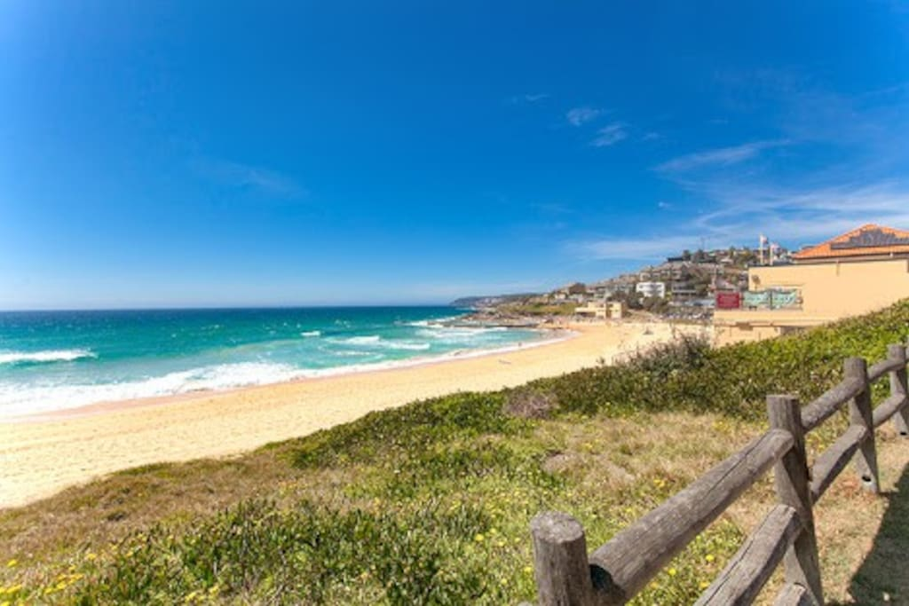 South Curl Curl Beach will be your front yard!
