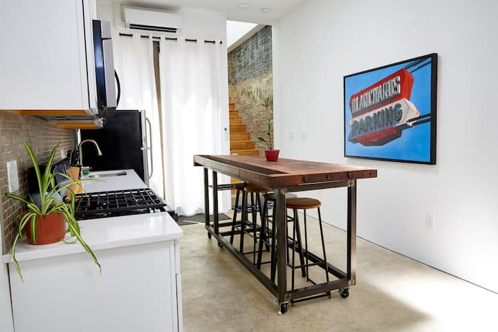 Modern one bedroom rowhome, NEW