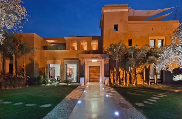 Luxury villa with heated pool - Marrakech - Villa