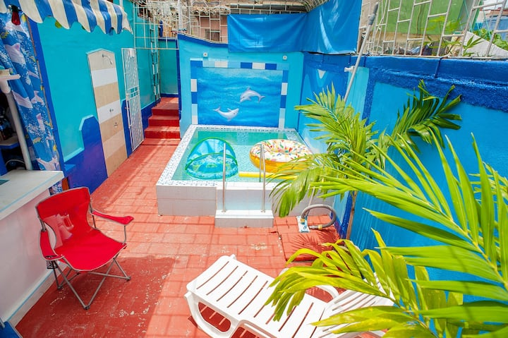 Enjoy the real pleasure, private pool, Full Space