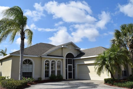 "Gulf Acces Home with private ""island"" - North Fort Myers - Huis"