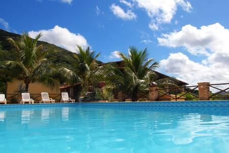 Resort Pedra dos Ventos (Quarto Individual)