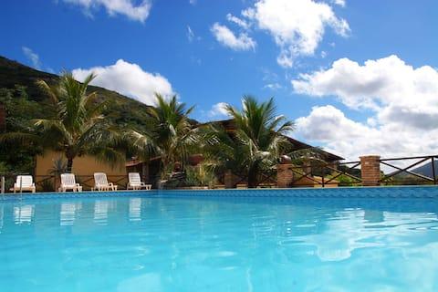 Resort Pedra dos Ventos (Quarto Casal)