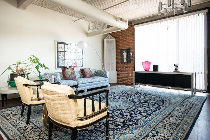 Historic Firehouse Loft