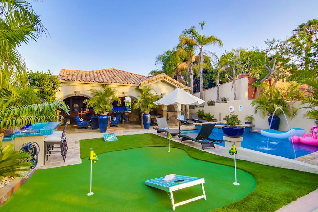 Enjoy some putt-putt or lounging in the pool