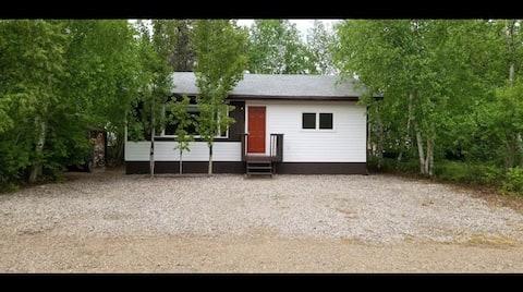 """Tobin Lake Cabin """"The Birchwood"""""""