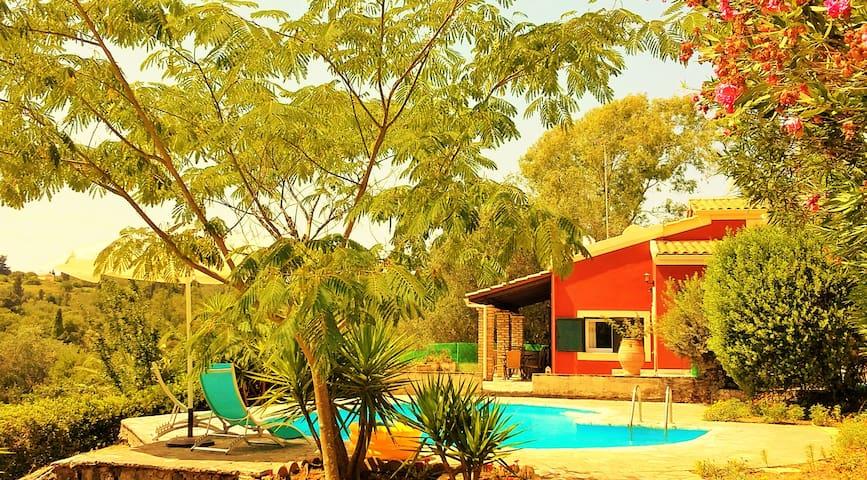 Νoble Villa Medici Cielo with views & private pool