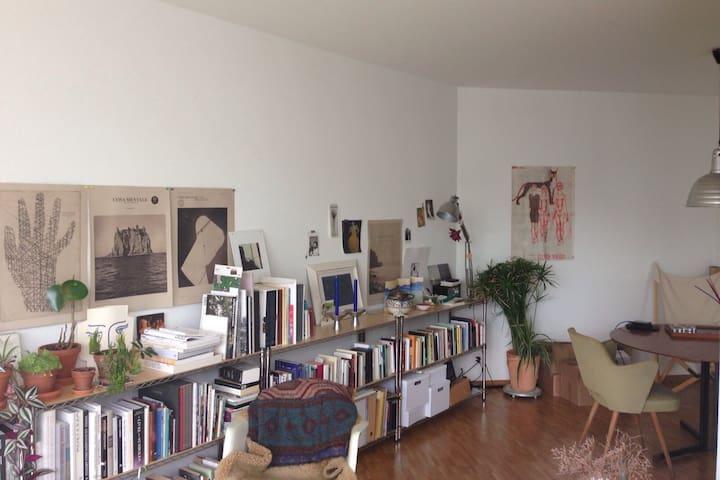 Nice bright appartement near Basel fair
