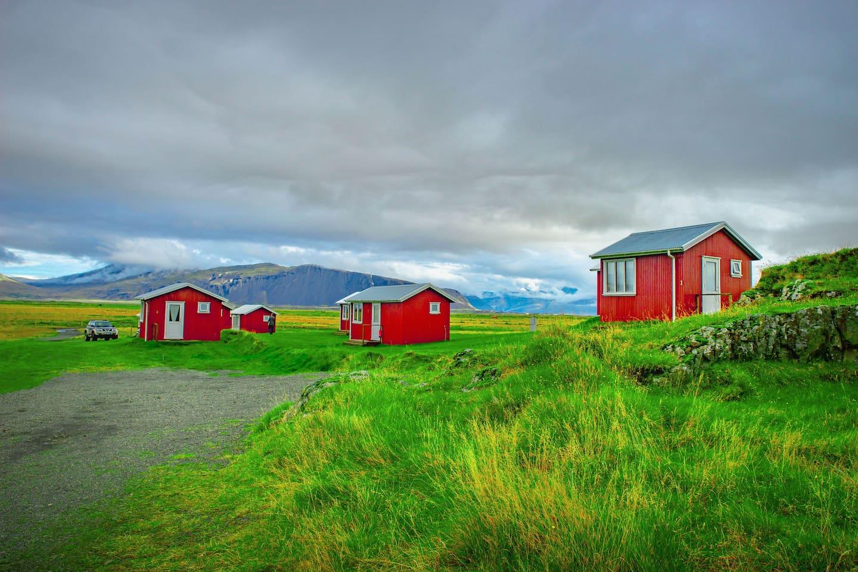 Lambhus Cabins in the Vatnajokull Region