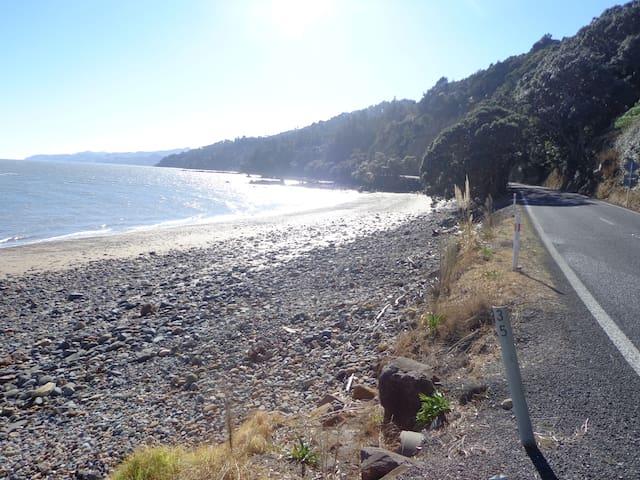 short walk to coast