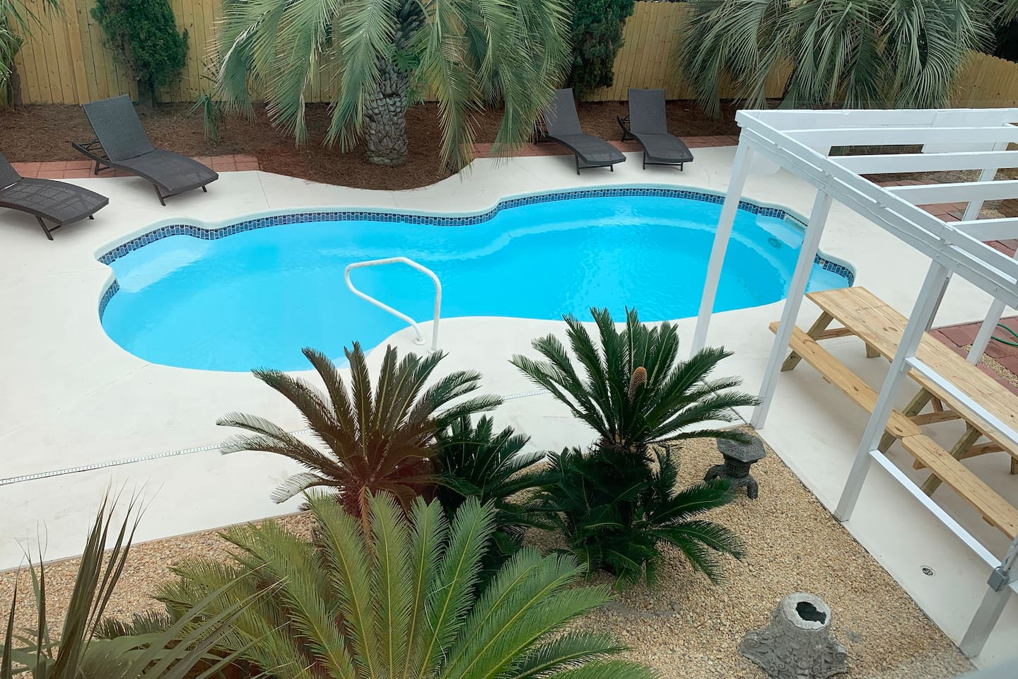 Surfs up? Not a problem! Enjoy a private pool any time of the day!
