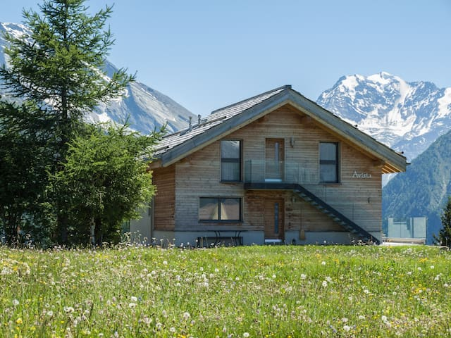 Avista - Amazing swiss mountain view cottage