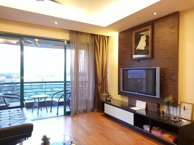 Resort Style Luxury Condo near Johor Sentral - Masai - Appartement