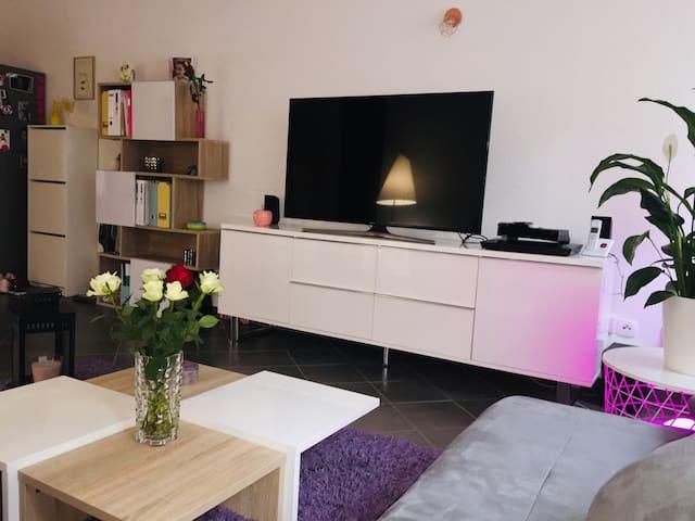 Chambre privée dans appartement cosy