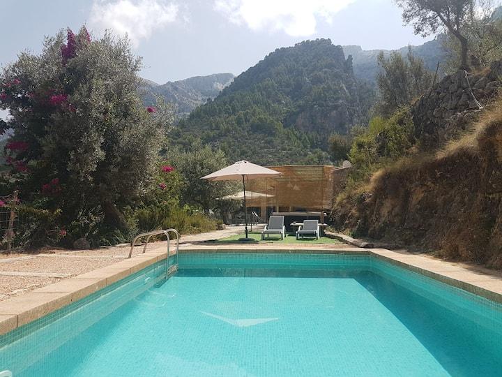 Can Juanma casita en la montaña
