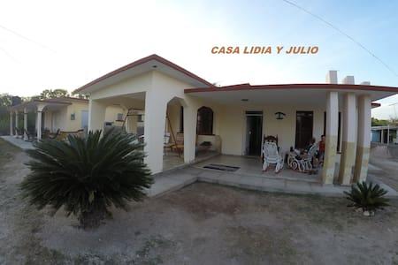 Casa Lidia y Julito el buzo