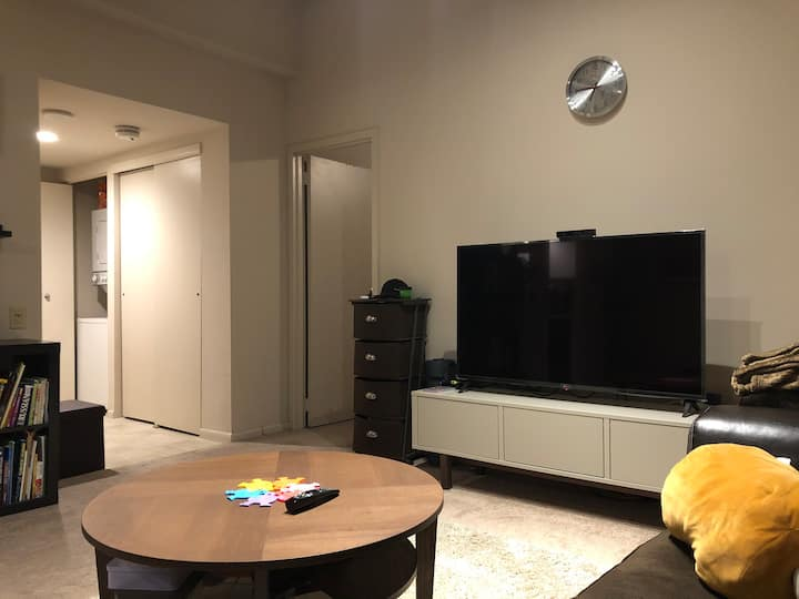 Spacious luxury 1 BR apartment (shared with 3 ppl)