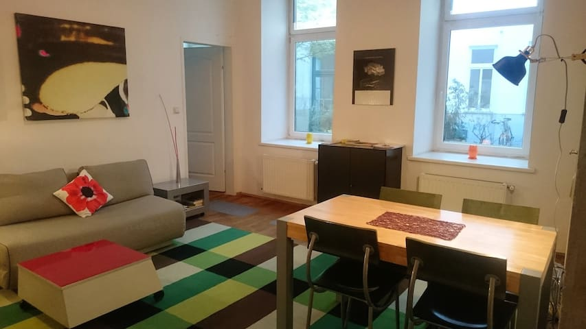 central cityapartement- wifi- nice neighbourhood