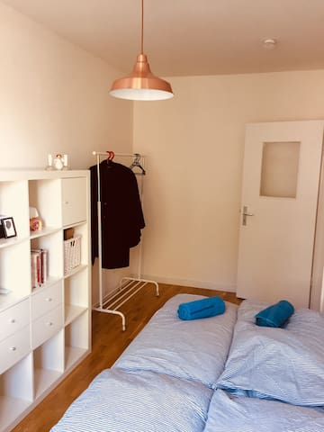 Cozy private room in central Hamburg