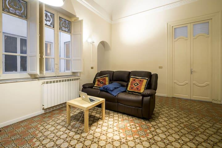 Maison ambrée/bianca al Politeama - Palermo - Apartment