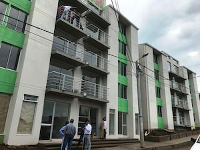 Fachada del conjunto residencial / Building's Facade