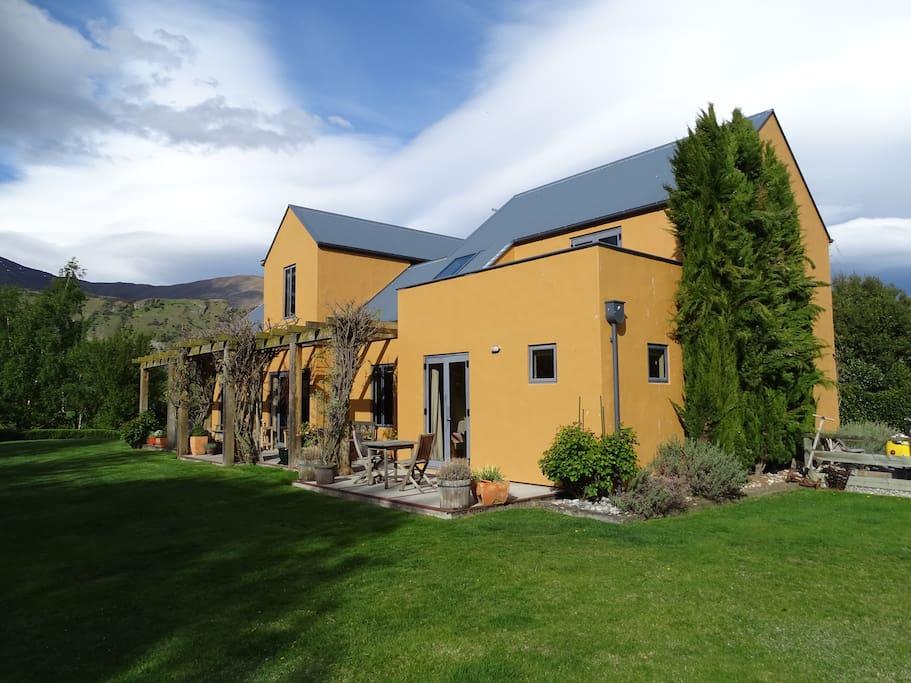 Nestledowns b b country retreat villas louer arrow - La villa rahimona en nouvelle zelande ...