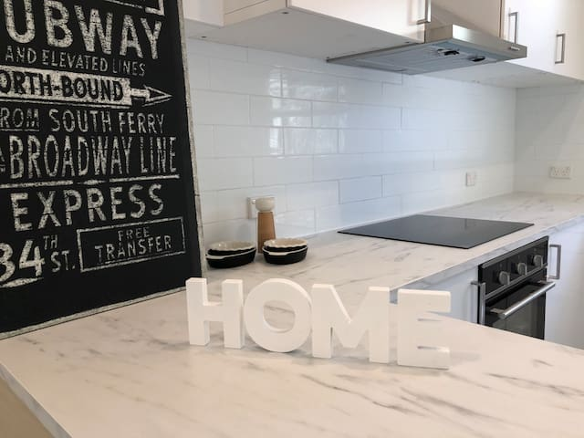 Brand new apartment in heritage building
