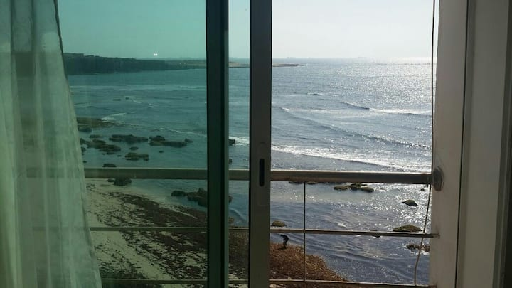 Duplex+piscine direct sur la plage de Sidi Bouzid