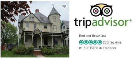 #1 Place to Stay by TripAdvisor &  Bfast 4 Foodies