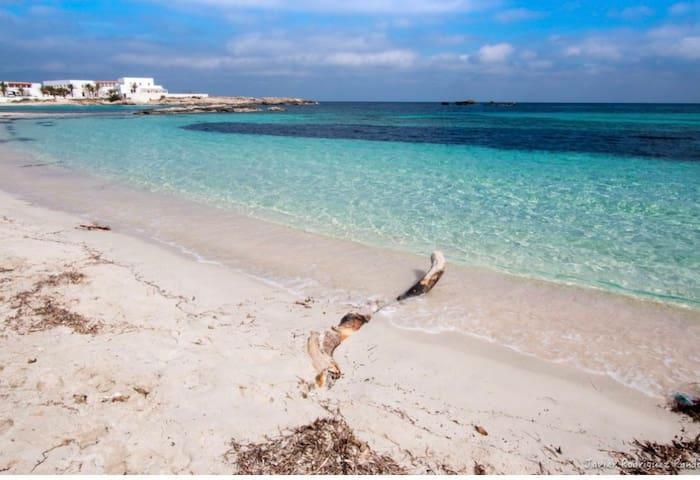 Estudio en la playa de Es Pujols!